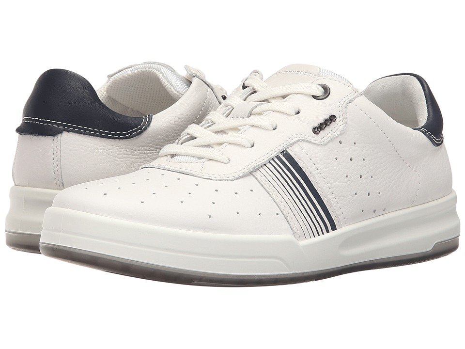 ECCO - Jack Sneaker (White) Men's Shoes