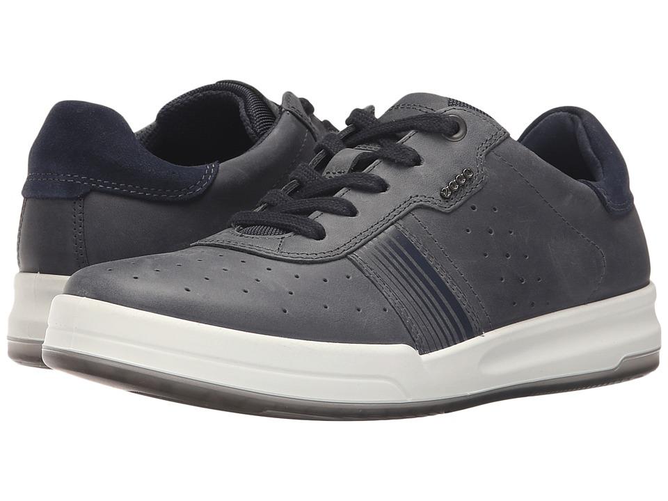 ECCO - Jack Sneaker (Marine) Men's Shoes