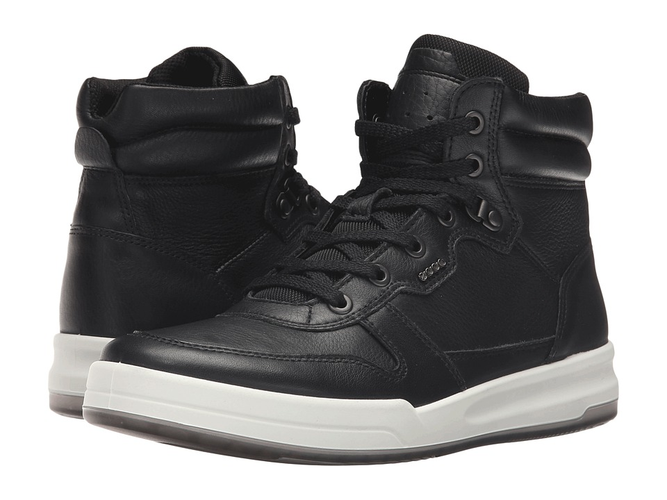 ECCO - Jack High Top (Black) Men's Shoes