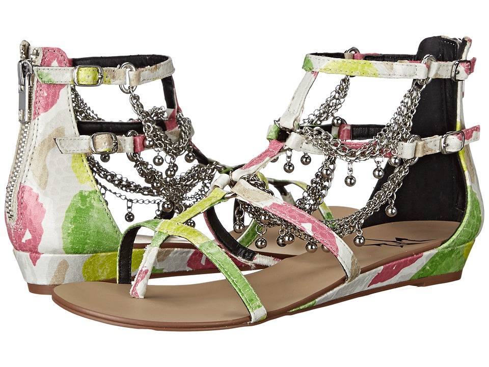 LFL by Lust For Life - Angel (White Multi) Women's Sandals
