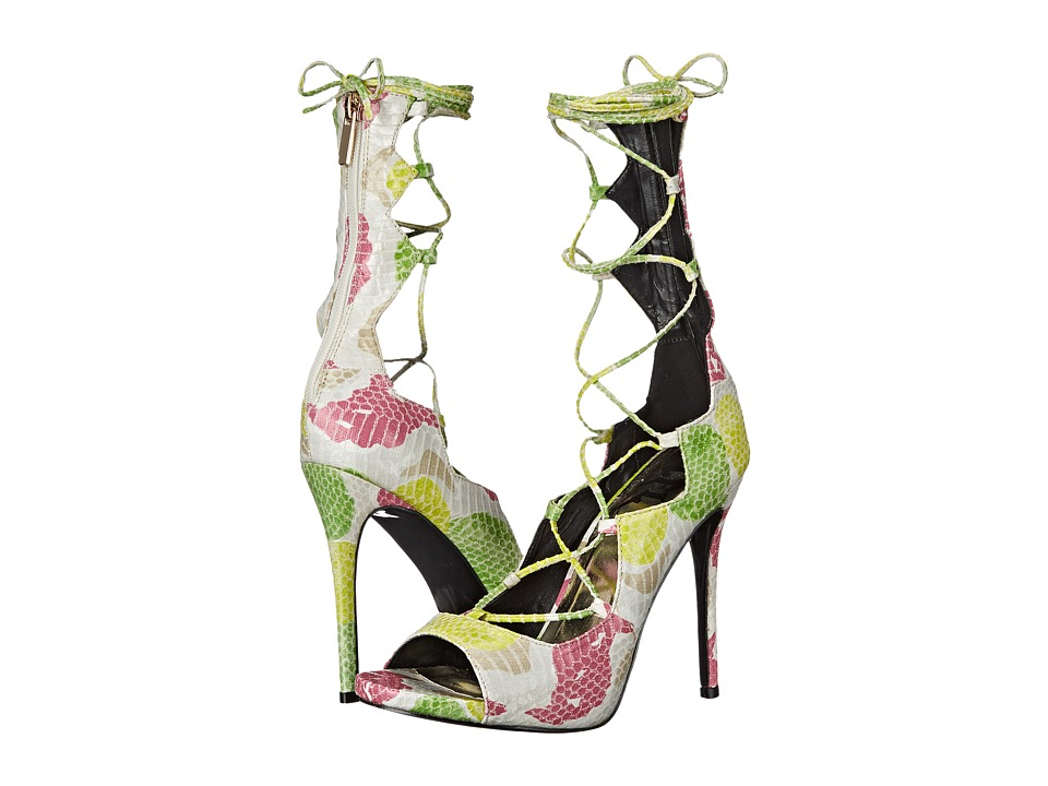LFL by Lust For Life - Jade (White Multi) High Heels