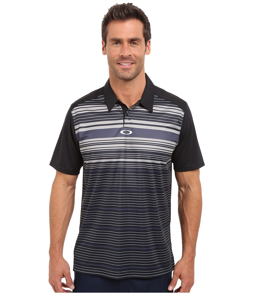 Oakley - Legacy Polo (Jet Black) Men's Short Sleeve Pullover