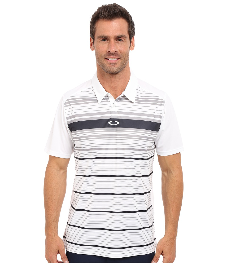Oakley - Legacy Polo (White) Men's Short Sleeve Pullover