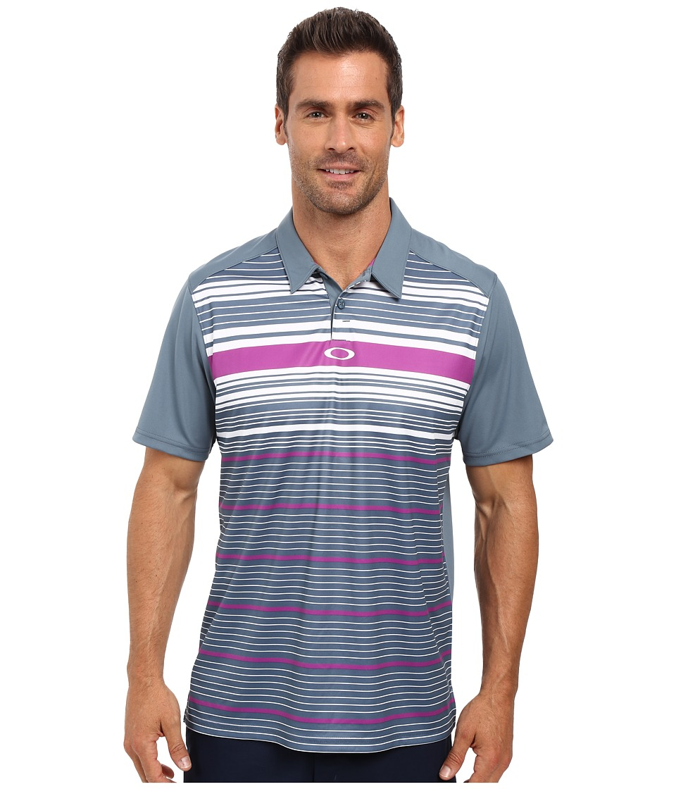 Oakley - Legacy Polo (Blue Mirage) Men's Short Sleeve Pullover