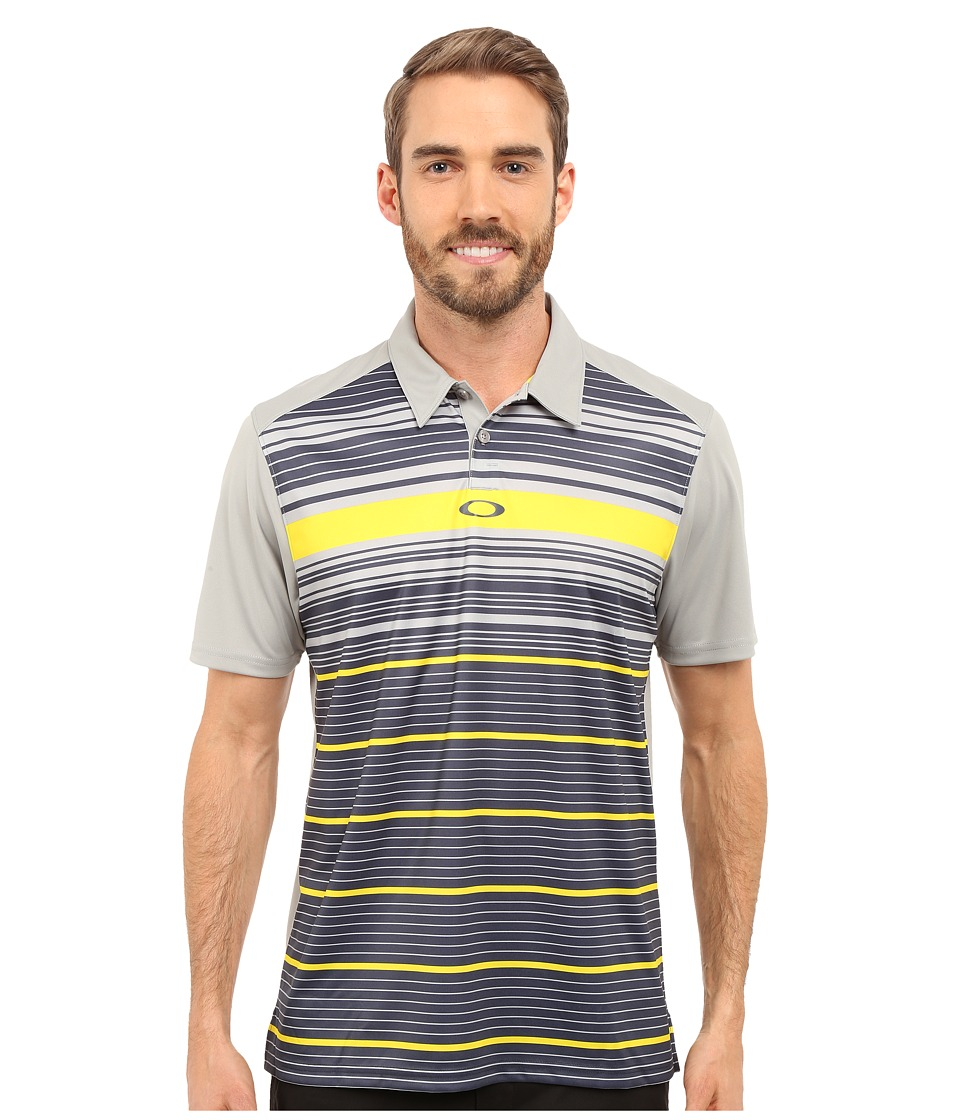 Oakley - Legacy Polo (Stone Grey) Men's Short Sleeve Pullover