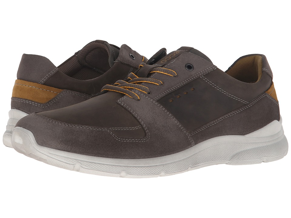 ECCO - Irondale Retro Low (Warm Grey/Tarmac) Men's Shoes