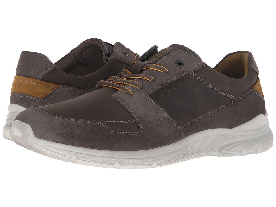 ECCO - Irondale Retro Low (Black/Black) Men's Shoes