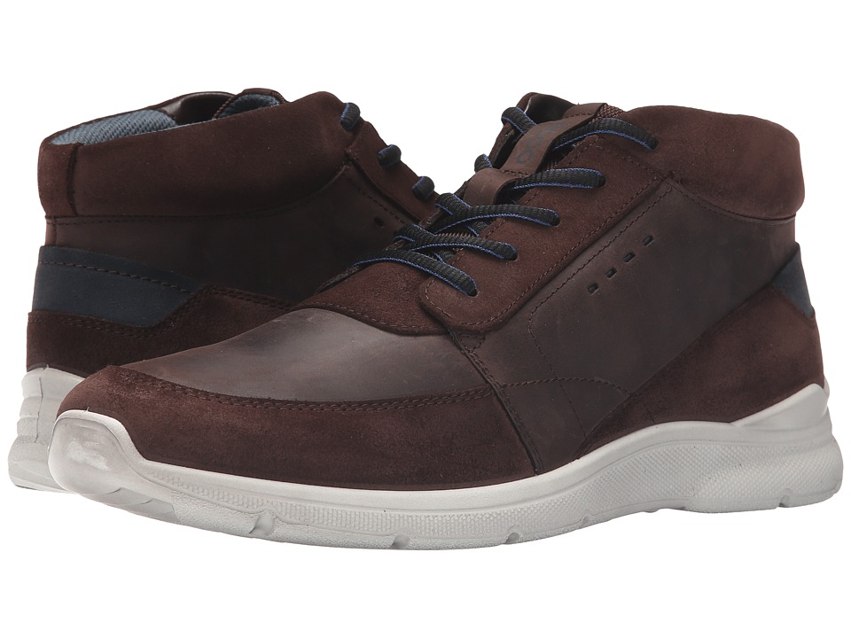 ECCO - Irondale Retro High (Mocha/Mocha) Men's Shoes