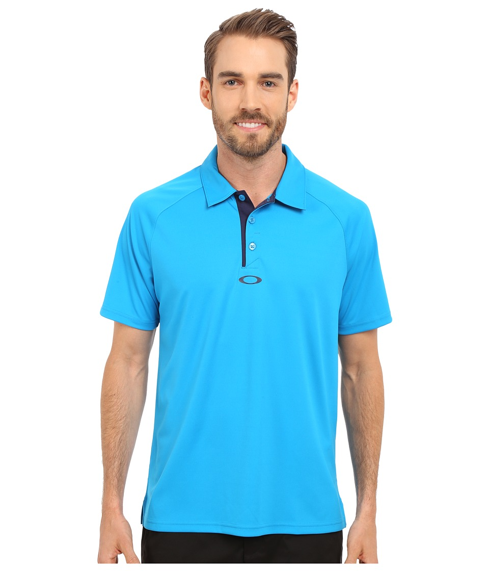 Oakley - Elemental 2.0 Polo (Pacific Blue) Men's Short Sleeve Pullover