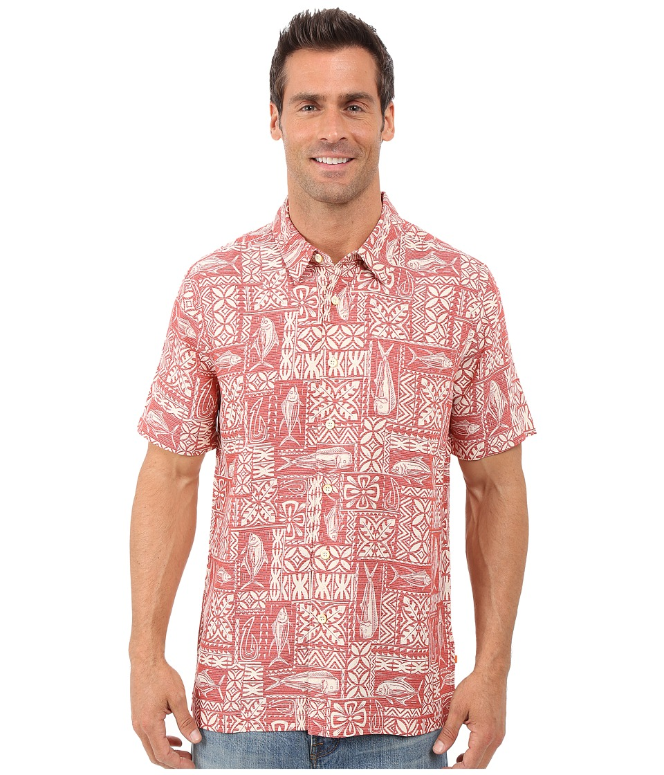 Quiksilver Waterman - Sage Advice Shirt (Red Tea) Men's Clothing