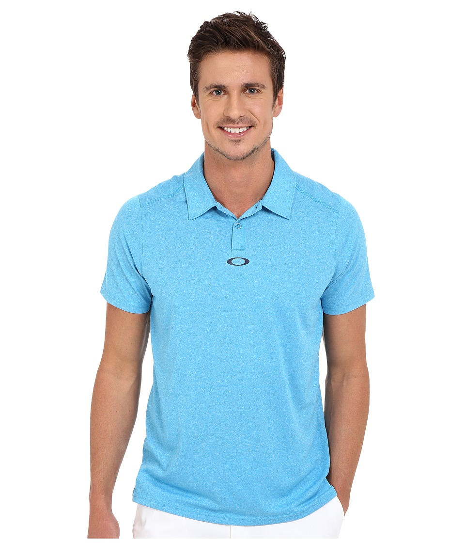 Oakley - Roman Polo (Pacific Blue) Men's Short Sleeve Pullover