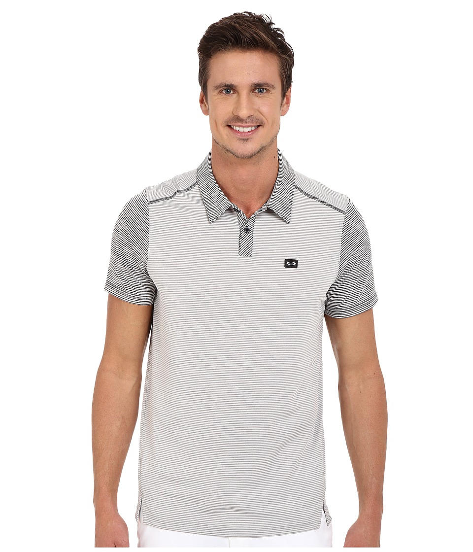 Oakley - Collins Polo (Stone Grey) Men's Short Sleeve Pullover