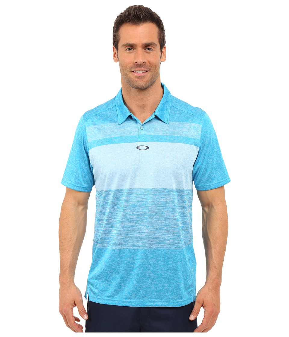 Oakley - Bristol Polo (Pacific Blue) Men's Short Sleeve Pullover