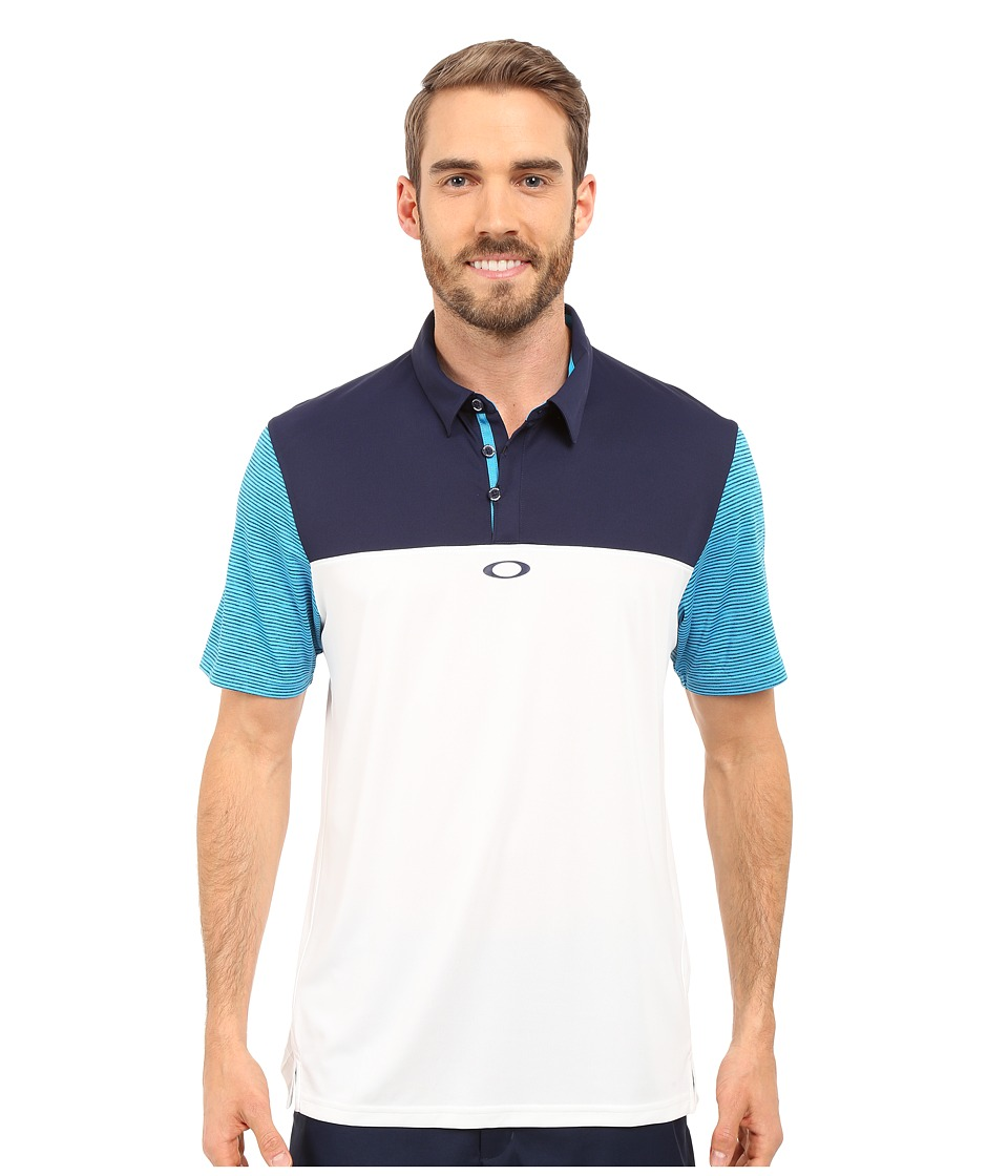 Oakley - Alignment Polo (White) Men's Short Sleeve Pullover