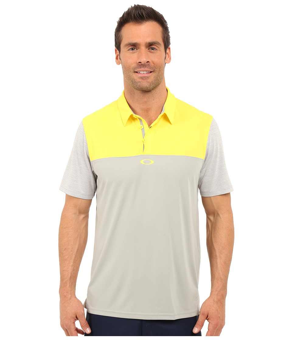 Oakley - Alignment Polo (Blazing Yellow) Men's Short Sleeve Pullover