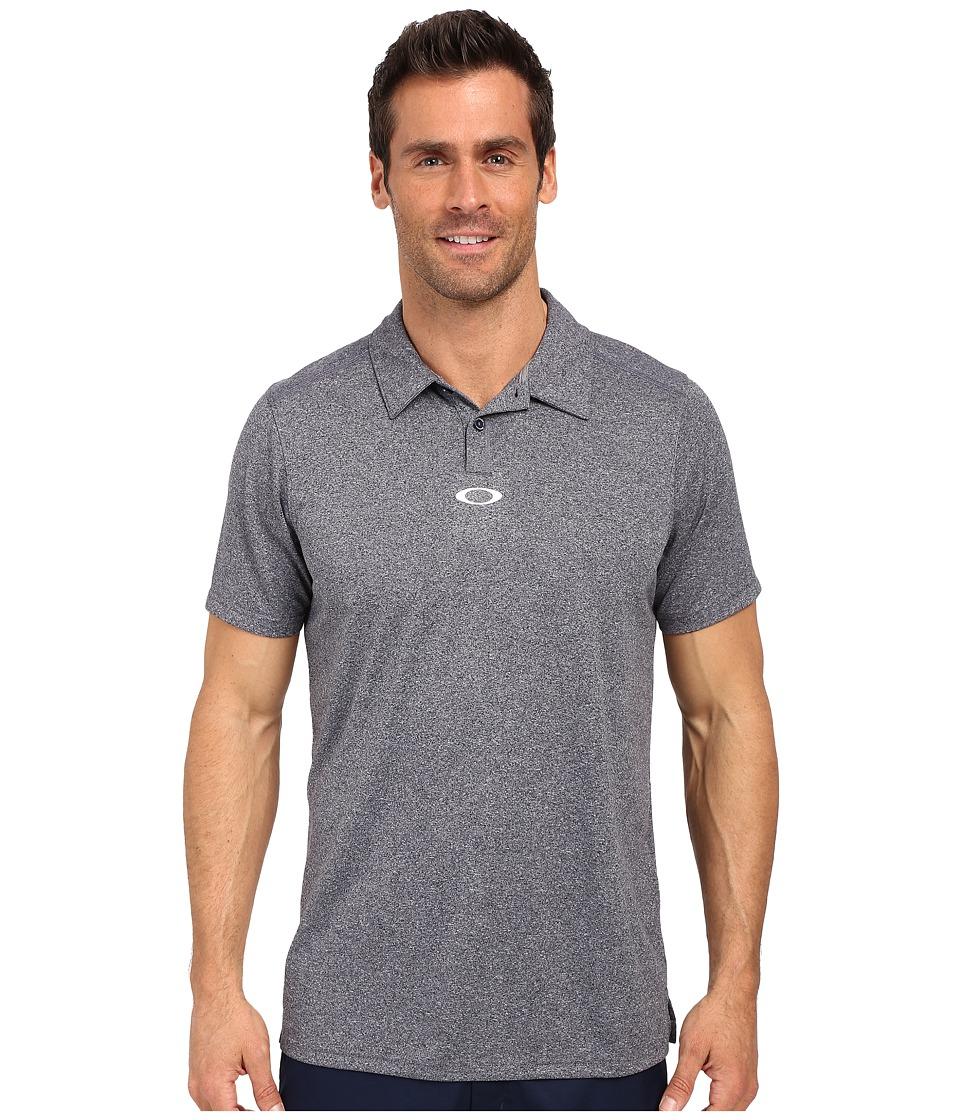 Oakley - Roman Polo (Peacoat) Men's Short Sleeve Pullover
