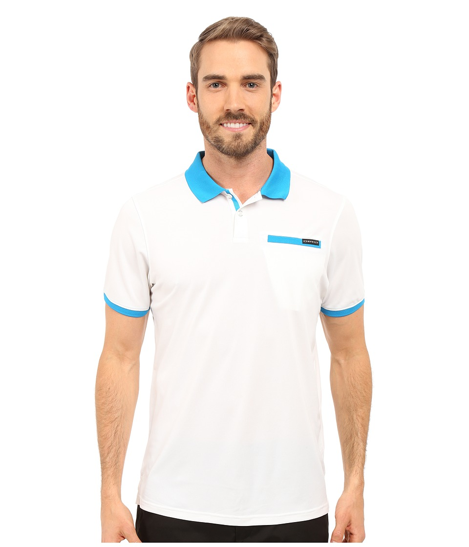 Oakley - Myers Polo (White) Men's Short Sleeve Pullover