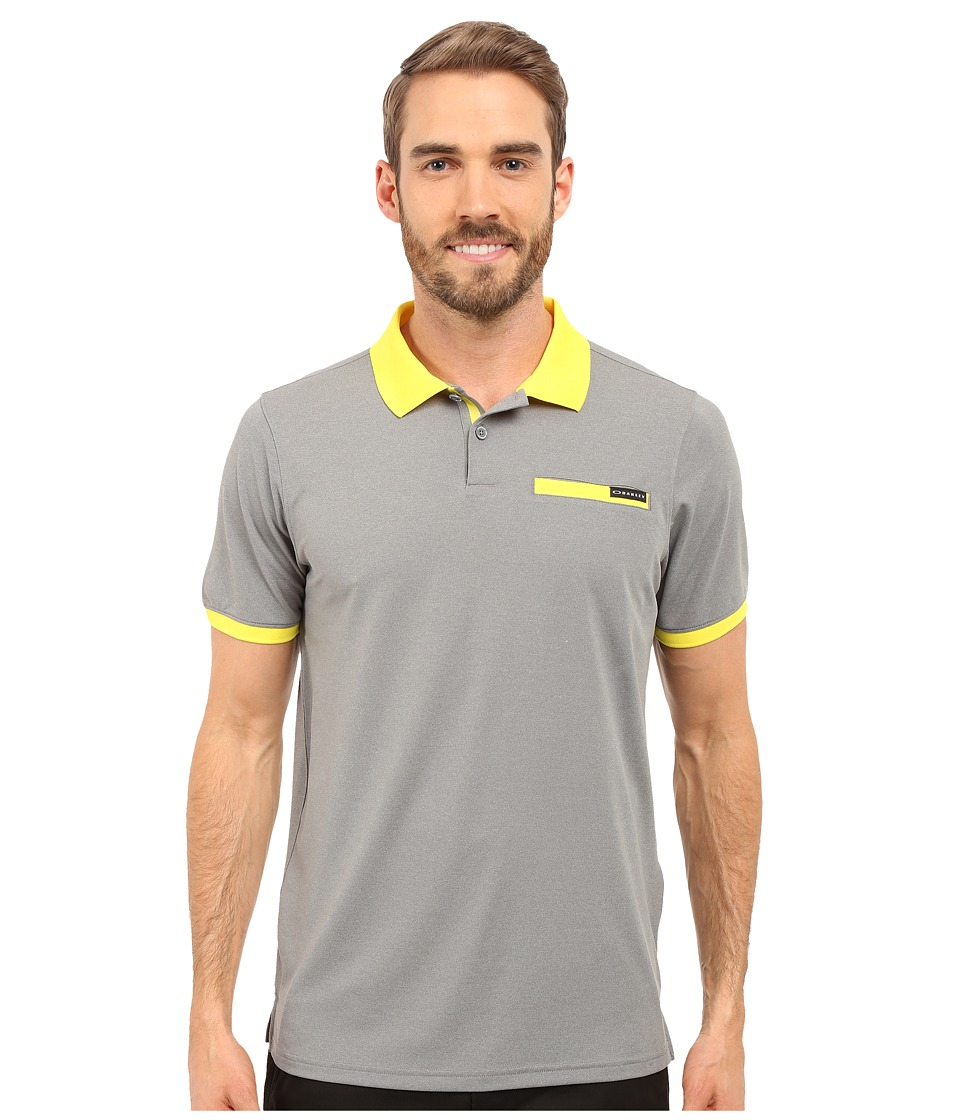 Oakley - Myers Polo (Heather Grey) Men's Short Sleeve Pullover