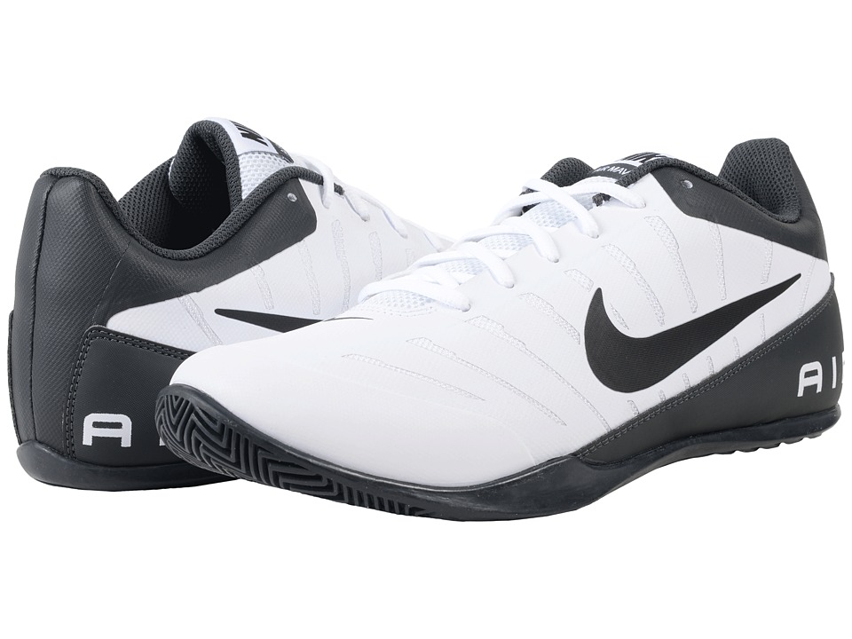 Nike - Air Mavin Low 2 (White/Black/Anthracite/Wolf Grey) Men's Basketball Shoes