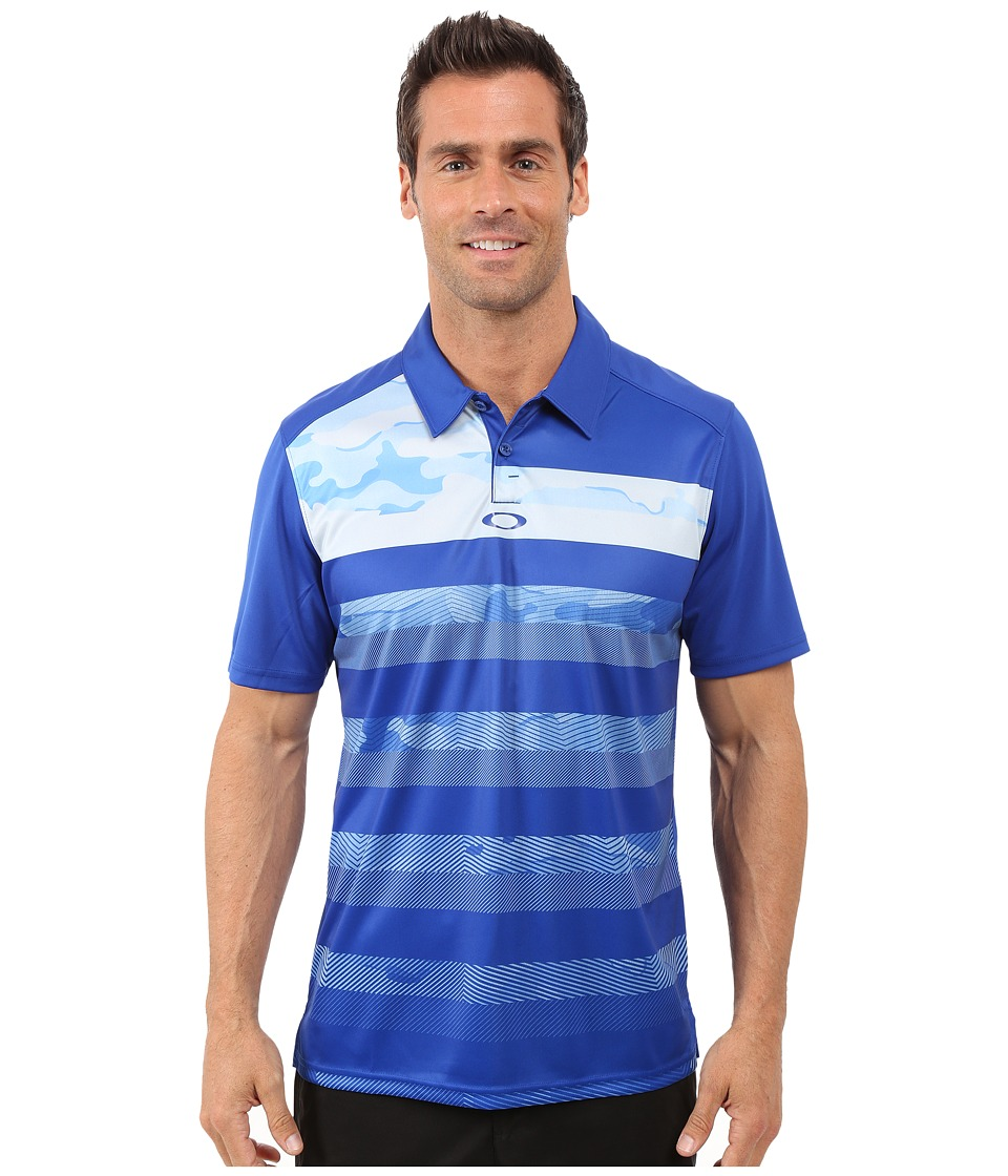Oakley - Lowers Polo (Sapphire) Men's Short Sleeve Pullover