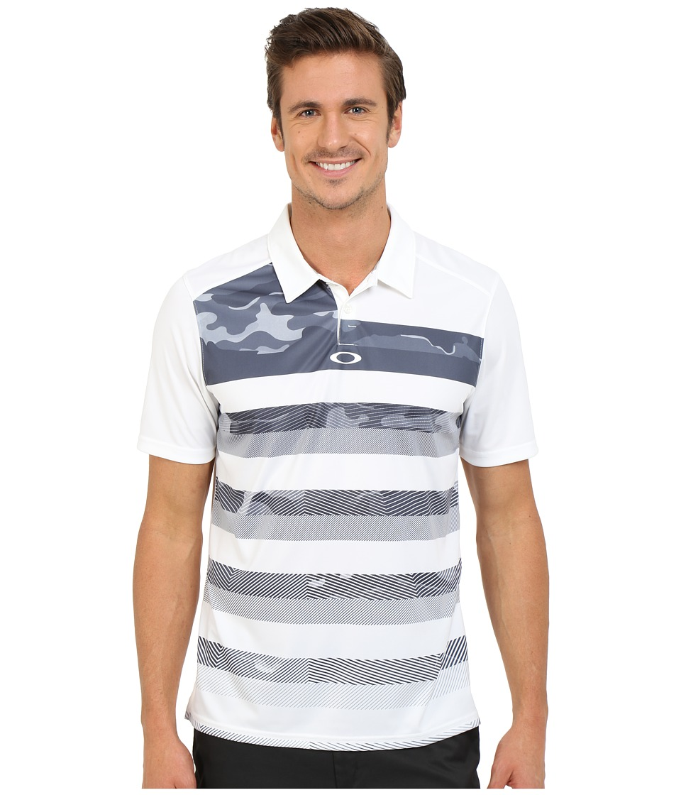 Oakley - Lowers Polo (White) Men's Short Sleeve Pullover