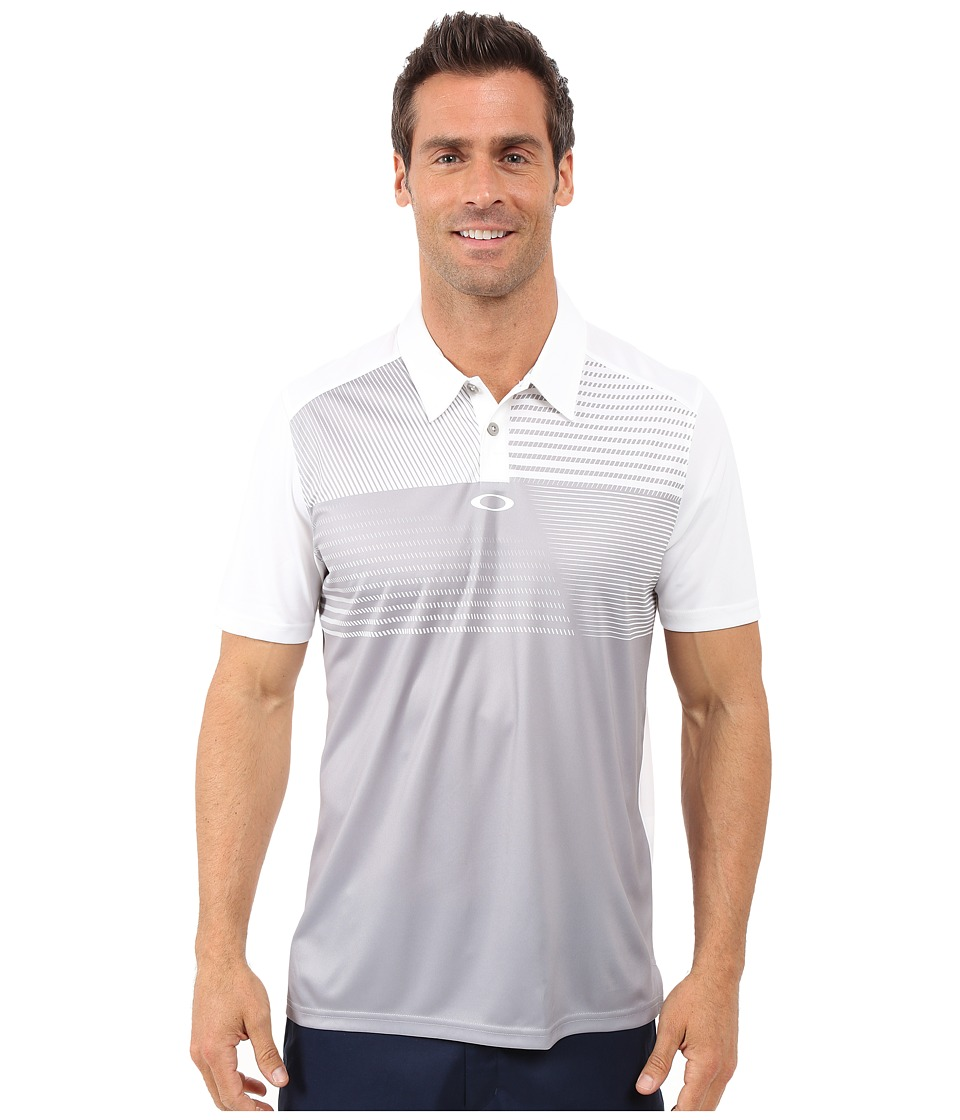 Oakley - Sunrise Polo (Stone Grey) Men's Short Sleeve Pullover