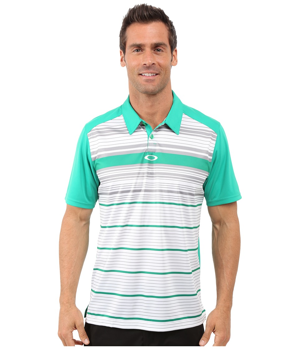 Oakley - Legacy Polo (Parakeet) Men's Short Sleeve Pullover