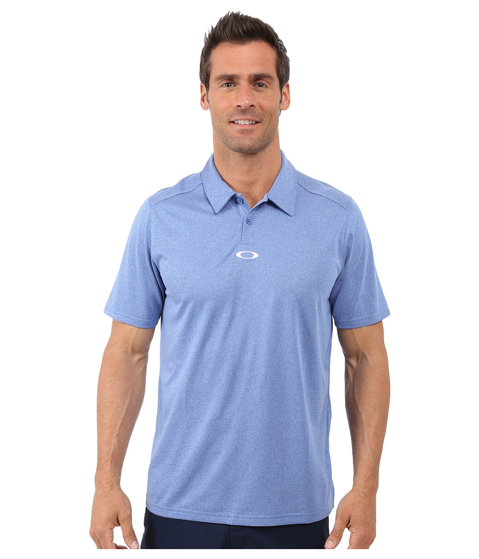 Oakley - Adams Polo (Sapphire) Men's Clothing