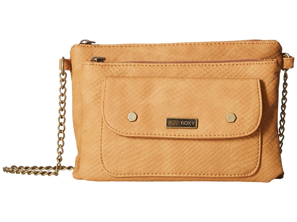 Roxy - Desert Breeze Crossbody Bag (Cliff Brown) Cross Body Handbags