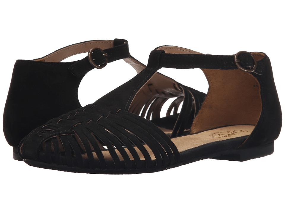 Seychelles - Into Thin Air (Black Suede) Women's Shoes