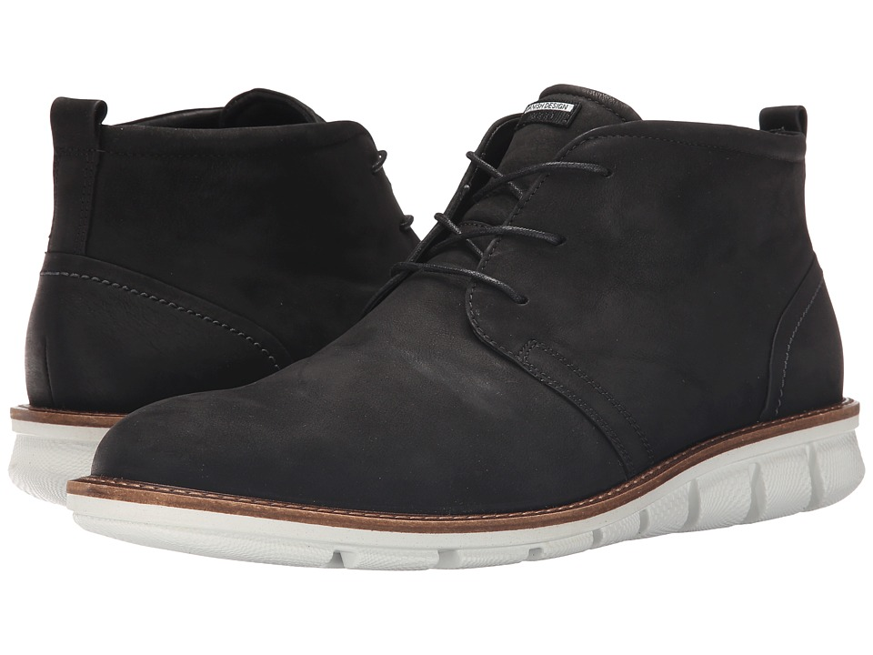 ECCO Jeremy Hybrid Boot (Black) Men
