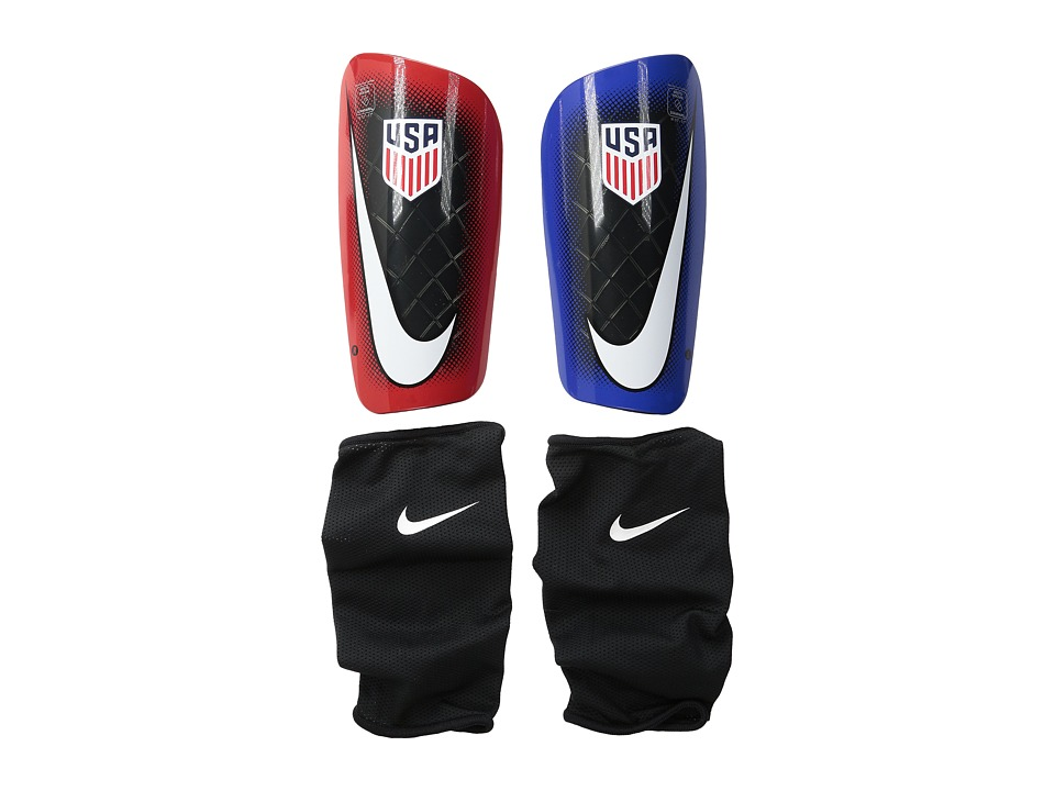 Nike - Mercurial Lite - USA (Dark Obsidian/Red/White) Athletic Sports Equipment