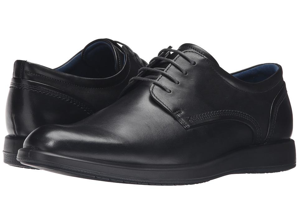 ECCO - Jared Tie (Black) Men's Shoes