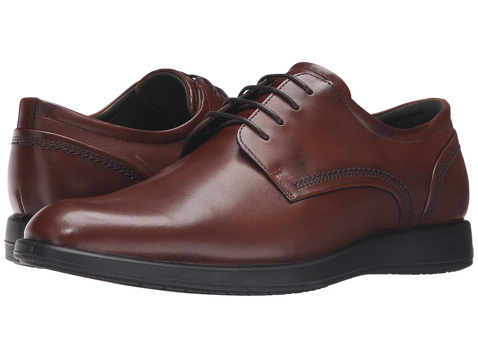 ECCO - Jared Tie (Mink) Men's Shoes