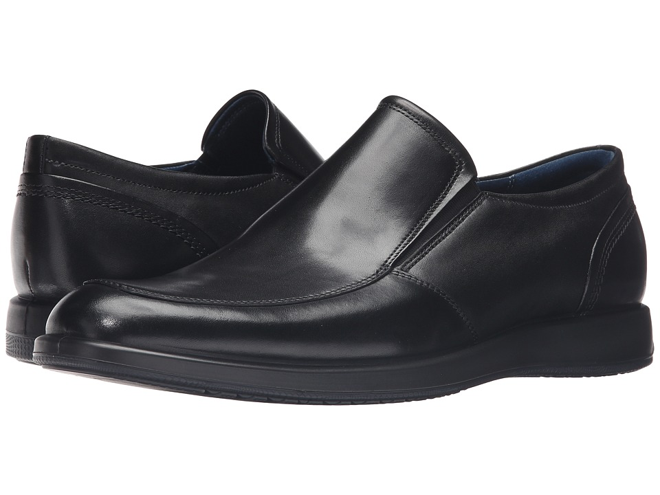 ECCO - Jared Slip-On (Black) Men's Shoes