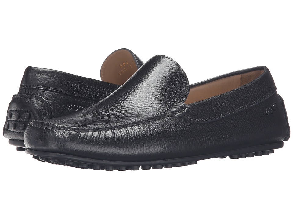 ECCO - Hybrid Moc (Black 1) Men's Moccasin Shoes