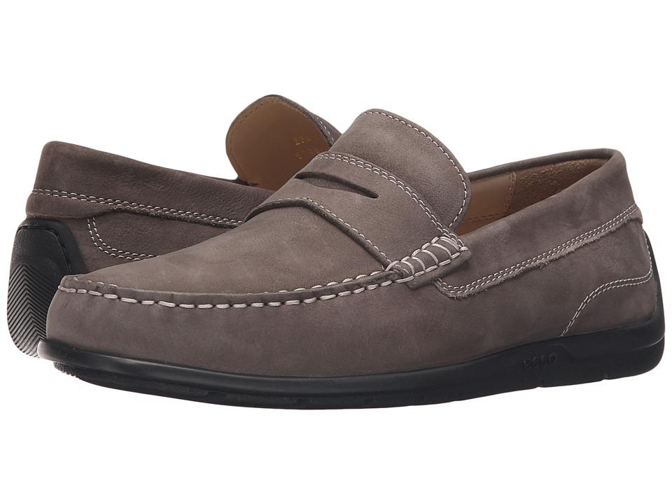 ECCO - Classic Moc 2.0 Loafer (Slate) Men's Slip on Shoes