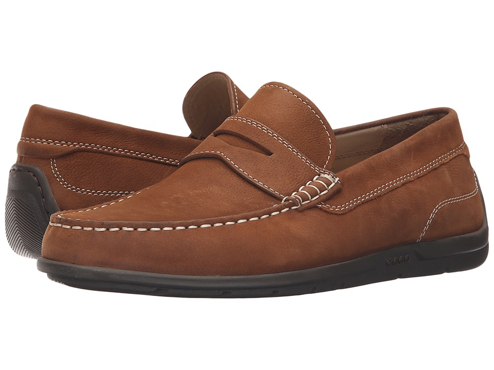 ECCO Classic Moc 2.0 Loafer (Mahogany) Men