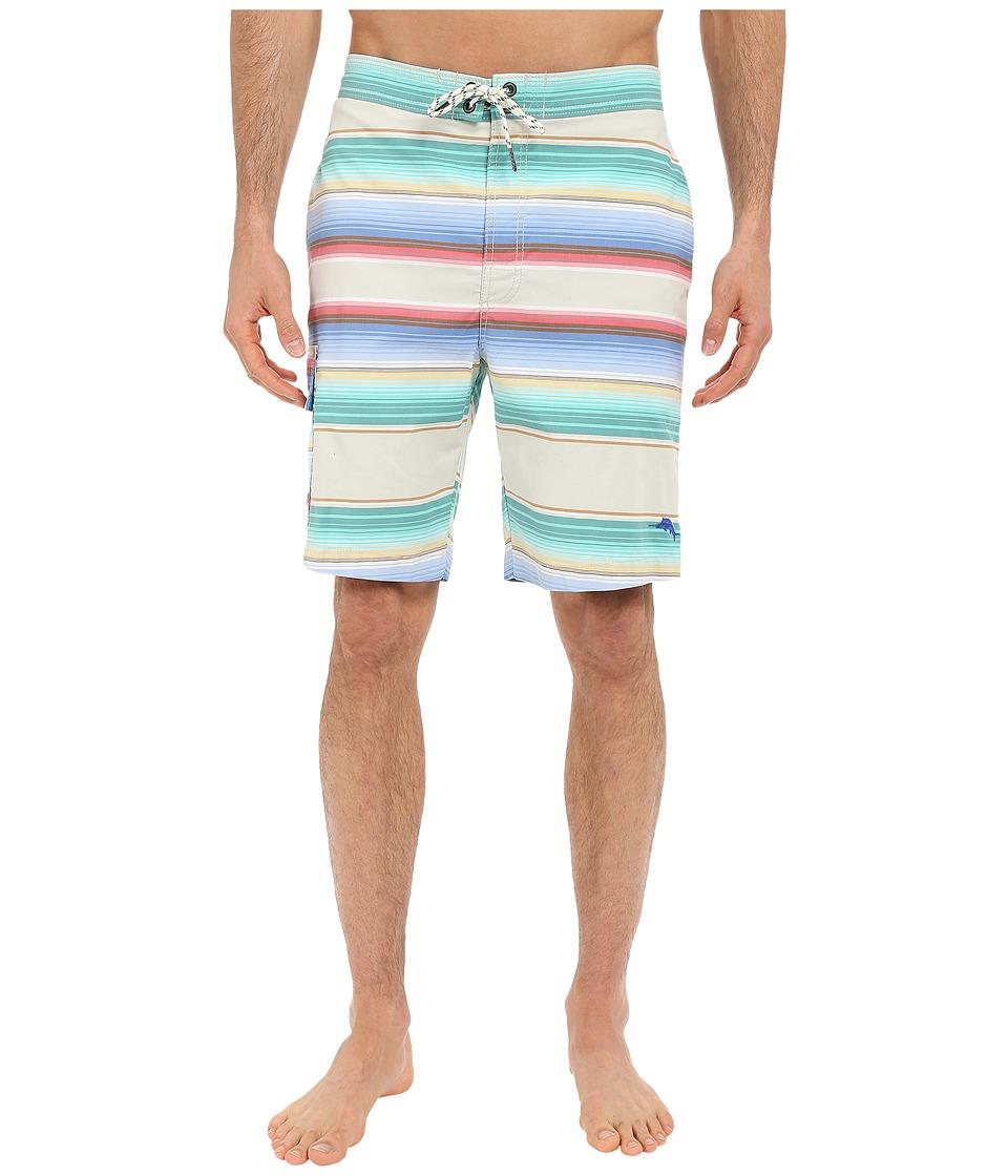 Tommy Bahama - Baja San Juan Stripes (Eggshell) Men's Swimwear