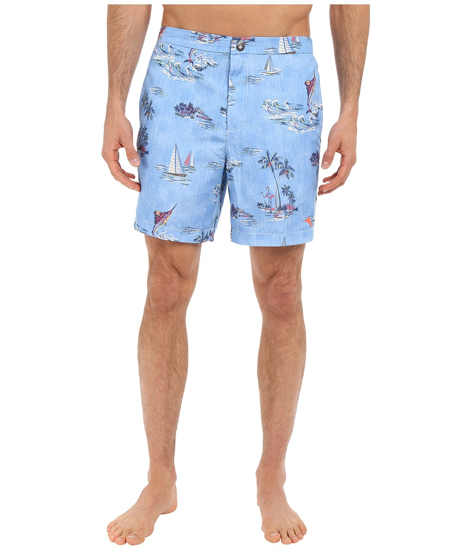 Tommy Bahama - Costa Yachta Regatta (Beach Bum) Men's Swimwear