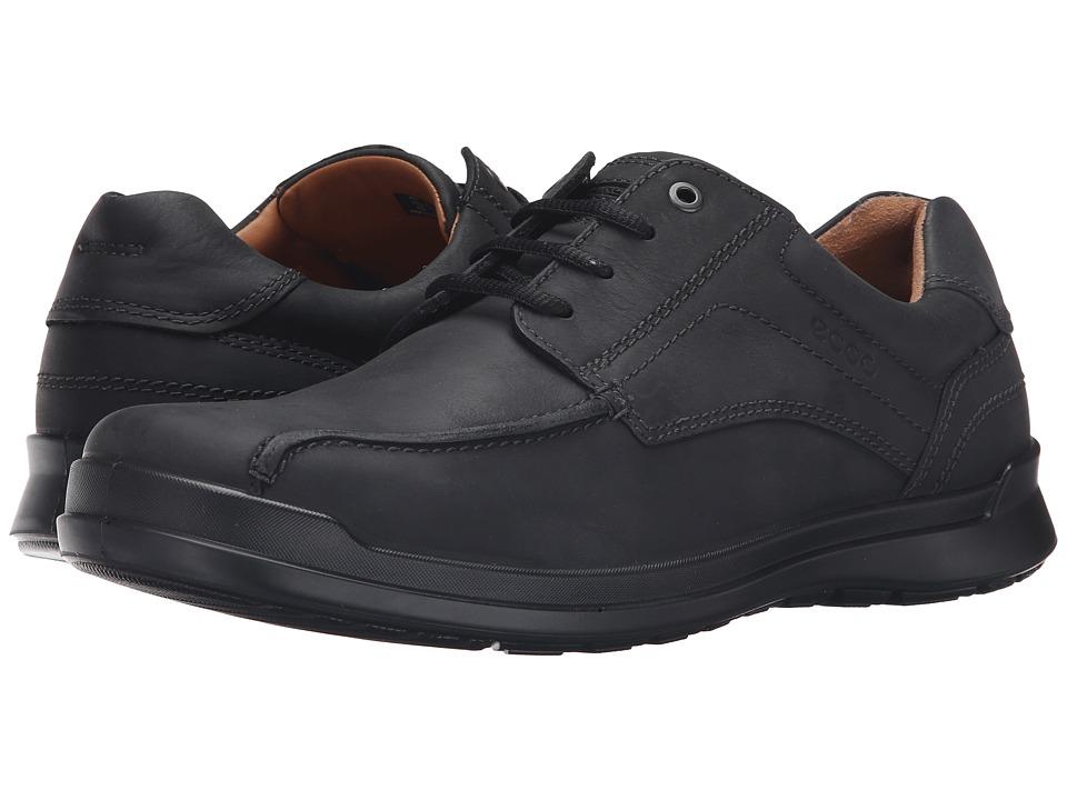 ECCO - Howell Lace (Black) Men's Shoes