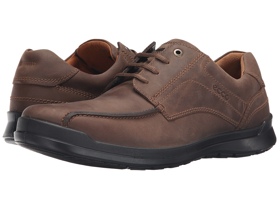 ECCO - Howell Lace (Cocoa Brown) Men's Shoes