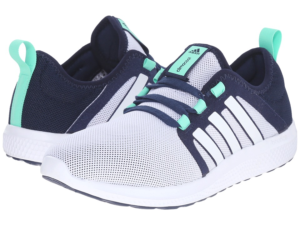 adidas - Fresh Bounce Famous (Collegiate Navy/White/Green Glow) Women's Running Shoes
