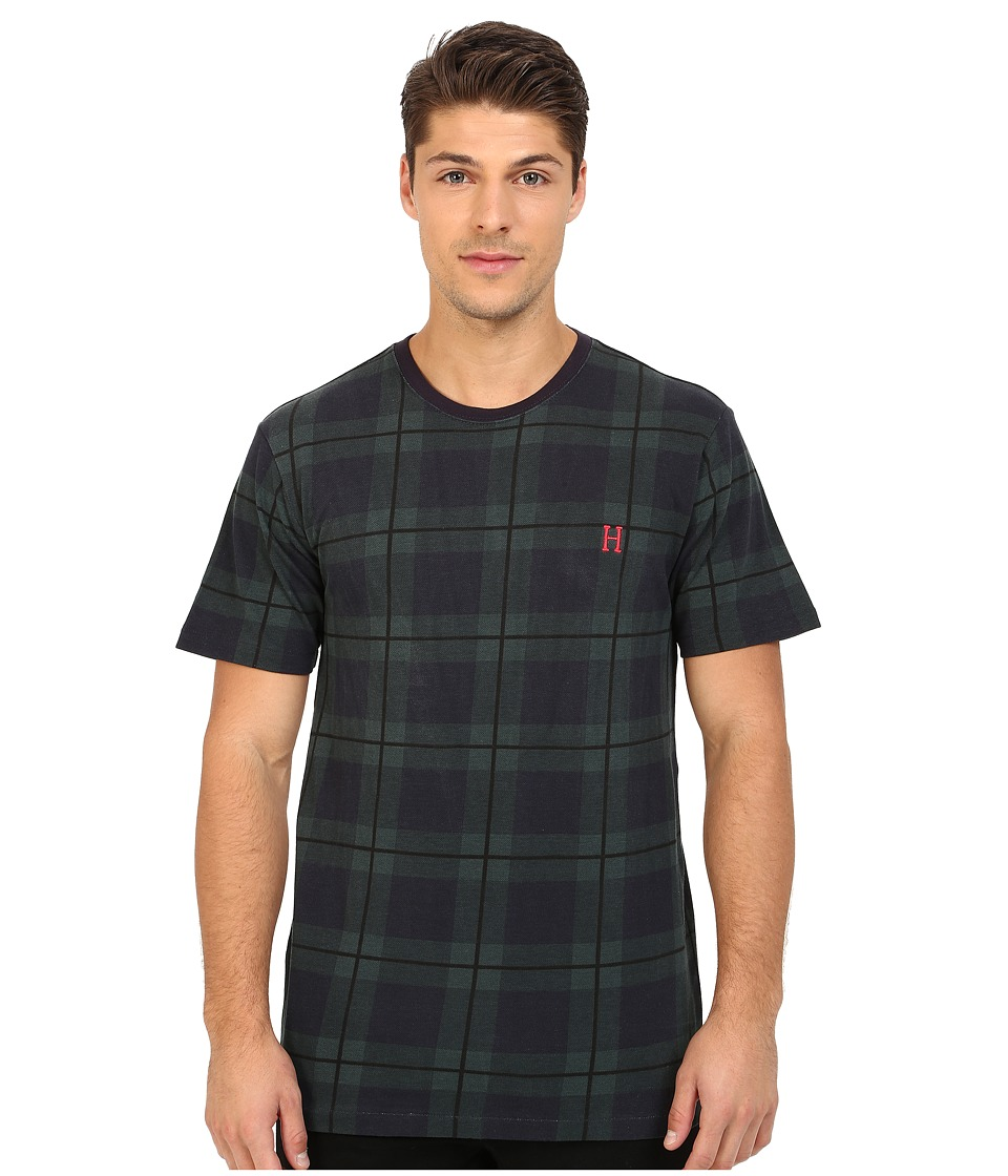 HUF - Blackwatch Tee (Blackwatch) Men