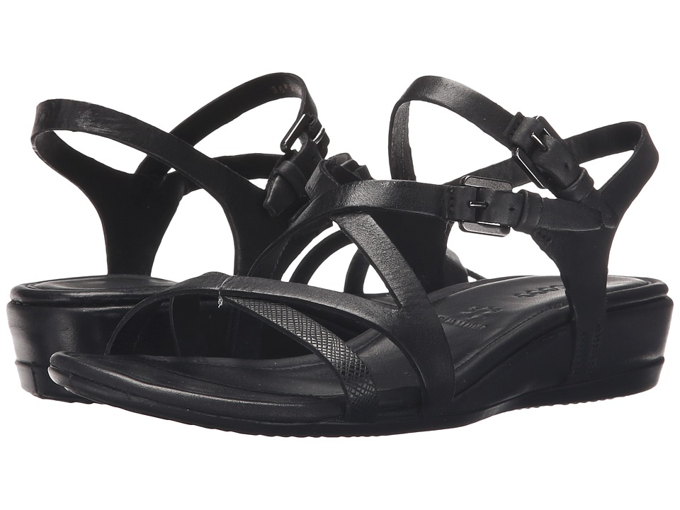 ECCO - Touch 25 Strap Sandal (Black/Black) Women's Sandals