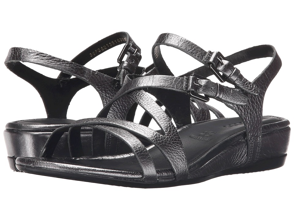 ECCO - Touch 25 Strap Sandal (Dark Shadow Metallic) Women's Sandals