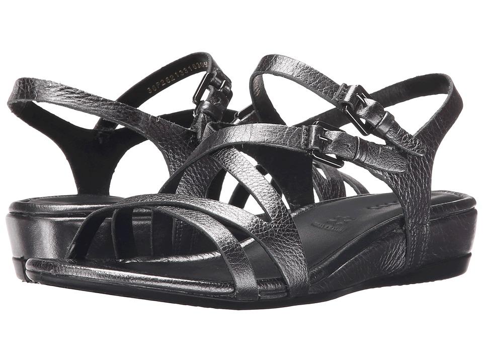 ECCO - Touch 25 Strap Sandal (Dark Shadow Metallic) Women's Sandals