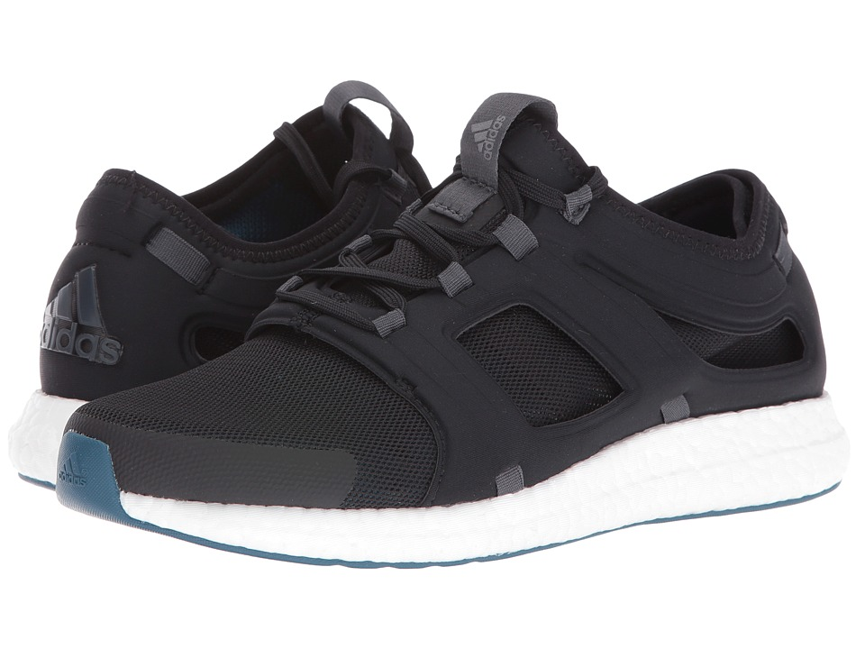 adidas - CC Rocket (Black/Dark Grey Heather Solid Grey/Night Metallic) Men's Running Shoes