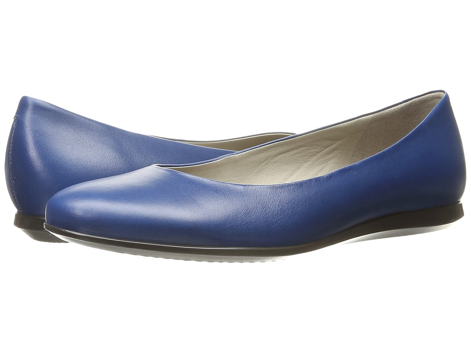ECCO - Touch Ballerina 2.0 (Poseidon) Women's Slip on Shoes