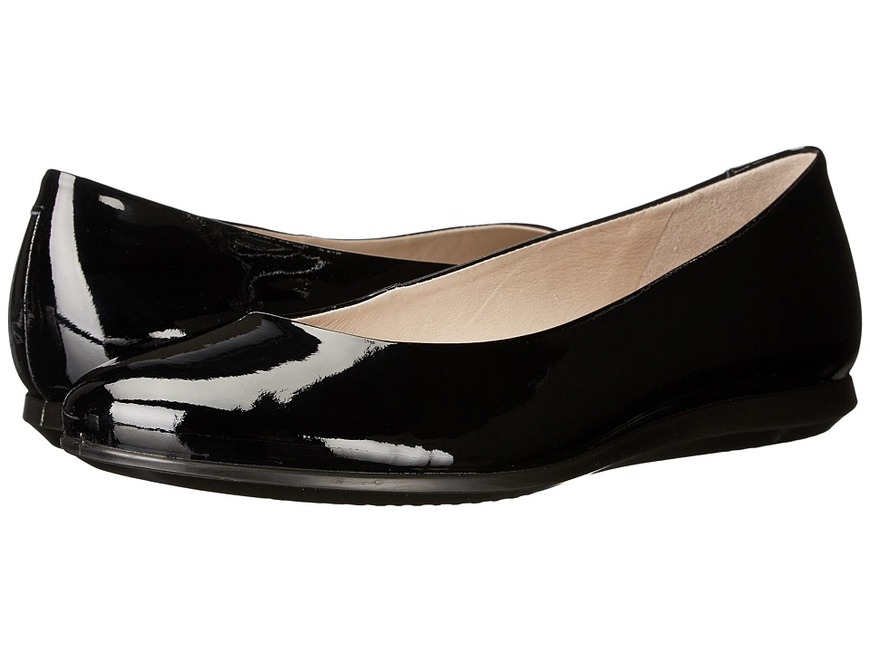 ECCO - Touch Ballerina 2.0 (Black 1) Women's Slip on Shoes